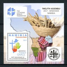 Namibia 2017 MNH Lutheran Reformation 500th Anniv 1v M/S Luther Religion Stamps | eBay