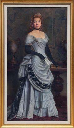 "Greer Garson ""Mrs. Parkington"" portrait from Mrs. Parkington ( 1944 )"