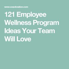 121 employee wellness program ideas that you can easily implement at your office, most of which won't cost you a penny. Employee Wellness Programs, Wellness Activities, Workplace Wellness, Health Fair, Proposal Templates, Programming, Ideas, Adulting, Sample Resume