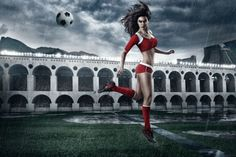 FIFA world cup 2014 calendar is out with hot Brazilian girls, showing famous moves or kicks of football or Soccer. Tim Tadder is a well-known sports art photojournalist who has created this beautiful calendar. Michael Phelps, Kid Rock, World Cup 2014, Fifa World Cup, Tom Brady, Stunning Photography, Travel Photography, Fashion Photography, Manchester United