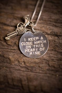 Free Shipping on Silver Johnny Cash Necklace. Youre welcome. http://Bourbonandboots.com     http://stylewarez.com