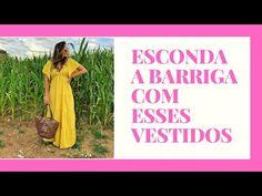 10 VESTIDOS PARA ESCONDER A BARRIGA - YouTube