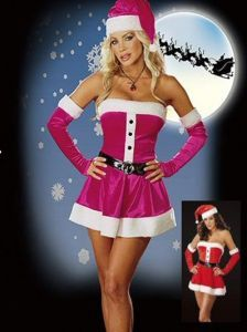 0cfcc3d4f4e Pink Santa Sweetie Christmas Costume #christmascostume #christmas #mrsclaus Sexy  Christmas Outfit, Red