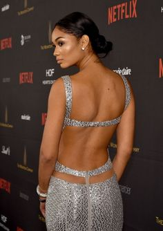 Chanel Iman – The Weinstein Company and Netflix Golden Globe Party in LA