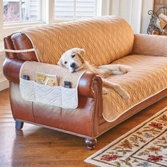 """These 5-Star Reversible Waterproof Furniture Protector with Strap are a stylish and practical addition to your favorite furniture pieces. These protectors will have you more than just covered from spills and the wear and tear of daily life, €""""they will have you sitting in chic and comfortable style."""