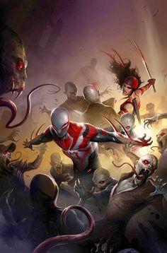 Spider man 2099 vs vampires
