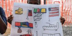 Ebola: The boy who drew his way to recovery #art #children #ebola #healing