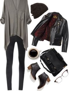fashion fall urban street look fashion style Mode Outfits, Casual Outfits, Fashion Outfits, Womens Fashion, Jackets Fashion, Hipster Outfits, Grunge Outfits, Simple Edgy Outfits, Edgy Fall Outfits