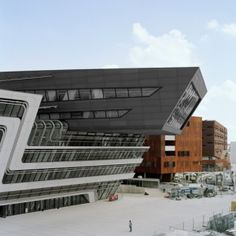 Library and Learning Centre in Vienna by Zaha Hadid Architects.