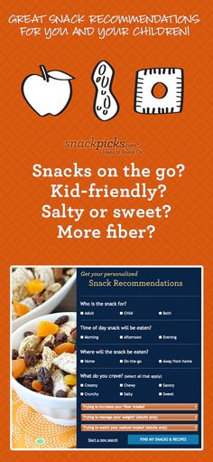 Personalized Snack Recommendations