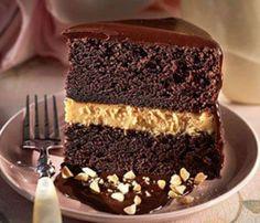 crema de maní para tortas