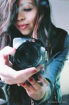 """conserva-tus-colores: """"sin título on Flickr. """"  #Autoretrato #chile #canon #photographers #tumblr #girl"""