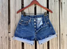Vintage LEVI 501 Button Fly Jean Shorts  HIGH by TomieHarlene, $23.50