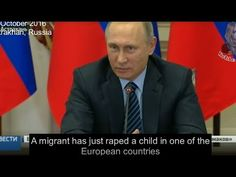 """Putin zu Migrantenkriminalität in Europa: """"Gesellschaft, die heute nicht ihre Kinder verteidigen kann, hat kein Morgen"""""""