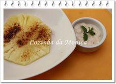 Doce de abacaxi com iogurte light (micro-ondas)