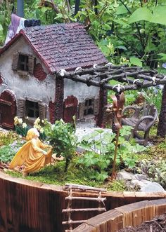 crabapple fairy garden