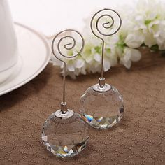Nice+Crystal+Ball+Place+Card+Holder+(Card+Not+Included)+–+GBP+£+2.63