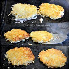 Plancha rosti - Recette röstis aux pommes de terre à la plancha sur kaderickenkuizinn.com
