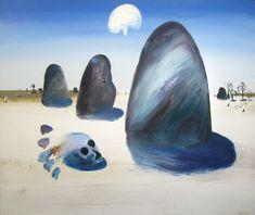 Arthur Boyd Australian Painters, Australian Art, Arthur Boyd, Cool Art, Fun Art, Naive Art, Surrealism, Folk, Artist