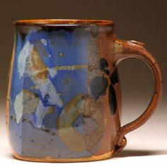 Handcrafted Pottery Mug by Beth Mangum in Asheville, North Carolina |Pinned from PinTo for iPad|