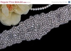 SALE  Bridal Belt  Wedding Sash  Heirloom Bridal by EleganceByKate, $79.00
