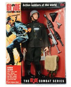 G.I. Joe needed Allies and Enemies. So The Soldiers of the World series was launched. Here's the German.