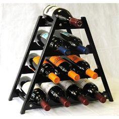 Cute petite wine rack
