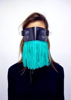 """X-ray Specs"" from mask series;""False Face Society"". By Helene Duckert"