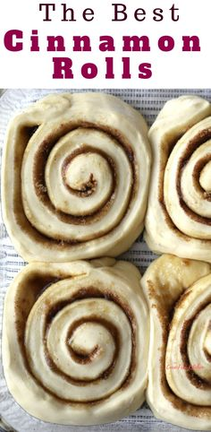 The Best Cinnamon roll recipe is made with simple ingredients and makes the lightest and fluffy, soft and chewy cinnamon rolls. Also included is a recipe for cinnamon roll icing, perfect to slather on your warm cinnamon rolls right out of the oven. Best Cinnamon Roll Recipe, Cinnamon Roll Icing, Cinnamon Roll Monkey Bread, Best Pancake Recipe, Cinnamon Roll Pancakes, Best Cinnamon Rolls, Cinnamon Roll Cookies, Cinnamon Recipes, Garam Masala
