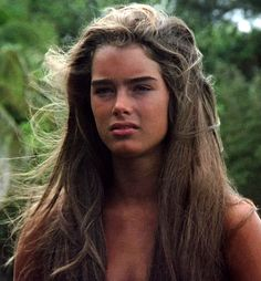 "Brooke Shields en ""El Lago Azul"" (The Blue Lagoon), 1980"