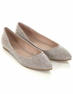 Super Sparkle Point Suede Shoes