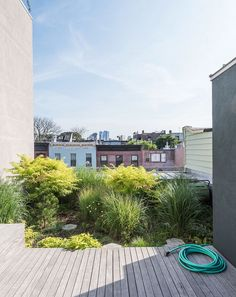 """gardeninglovers: """" Dwell - A Rooftop Garden Completes This Urban Pastoral Home """""""