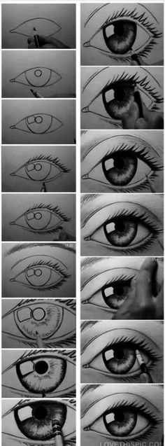 Eyes to draw...