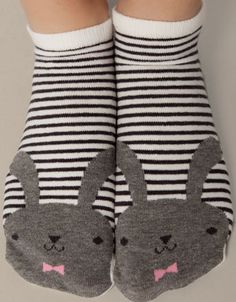 Ankle socks with rabbit detail - Socks - Accessories - Netherlands