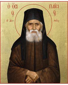 Saint Paisios of Mount Athos Orthodox icon Byzantine Icons, Byzantine Art, Religious Gifts, Religious Art, Saint Barbara, Lives Of The Saints, Church Icon, Nova, John The Baptist