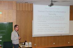 "Erasmus IP'14 ""Steganography and Digital Investigations"" 22 de abril - 'Human Factors'"