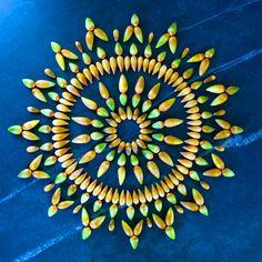 Lo efímero de la naturaleza en mandales de flores (FOTOS)  Ecoosfera