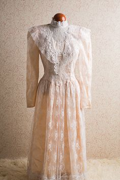 f3e90e54d5 1980 s Gunne Sax Dress. Etsy 1980s Wedding Dress