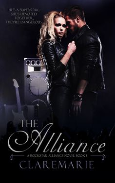 The Alliance Book 1 Cover.  One Continuous Rockstar Timeline. Fourteen Surrounded By Fame. Seven Bonded Brothers. Seven Female Best Friends.  #ClareMarie #TheAlliance #Ivy&Kayden #TheRockstarAllianceSeries #DenyMe #Love #Fame #Friendship #Brotherhood #Sisterhood #Loyalty