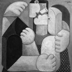 "Saatchi Art Artist Christopher Mudgett; Painting, ""Lovers II"" #art"