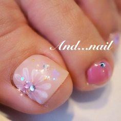 Bhpxfjtcqaadegc Cute Nail Art Designs, Pedicure Designs, Black Nail Designs, Toe Nail Designs, Nail Polish Designs, Pretty Toe Nails, Cute Toe Nails, Toe Nail Art, Feet Nails