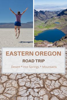 Discover hot springs, hike mountains, drive on the Alvord Desert and camp under the stars with this ultimate eastern Oregon road trip itinerary. Oregon Road Trip, Us Road Trip, Oregon Travel, Oregon Camping, Usa Travel Guide, Travel Usa, Travel Tips, Travel Guides, Canada Travel
