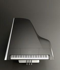 """Naissance d'un nouveau piano issu du mariage d'un facteur de piano """"Pleyel"""" et d'un Design imaginé par un constructeur automobile """"Peugeot"""".   Tout de même 165.000 euros mais pour ce prix le tabouret est offert ;-)"""