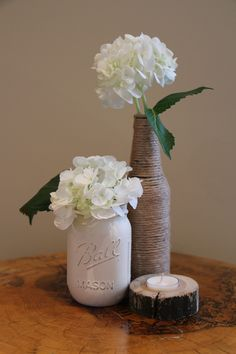 Chalk Paint Mason Jars, Coupon Codes, Wax, Etsy, Painting, Products, Home Decor, Homemade Home Decor, Paintings