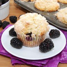 Lemon Ricotta BlackberryMuffins sweet-pea-s-kitchen-recipes
