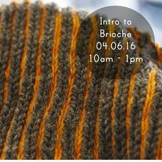 We have two spaces left on the Intro Brioche class this saturday. Grab um quick.  Link in profile to book. #fluph #dundee #brioche #knit