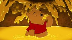 """Who is Your Disney Spirit Animal? Your Disney Spirit Animal is Pooh Bear! You're a daydreamer, best friend, and always in the mood for food. You take the word """"thoughtfulness"""" to a whole new level."""