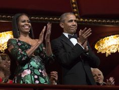 Barack and Michelle Obama Attend Their Final Kennedy Center Honors as the First Couple