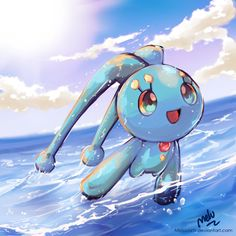 Manaphy by MeluuArts.deviantart.com on @DeviantArt