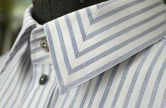 Formal Shirts For Men, Men Formal, Mode Man, Mens Designer Shirts, African Men Fashion, Mens Fashion, Fashion Tips, Collar Designs, Collar Styles